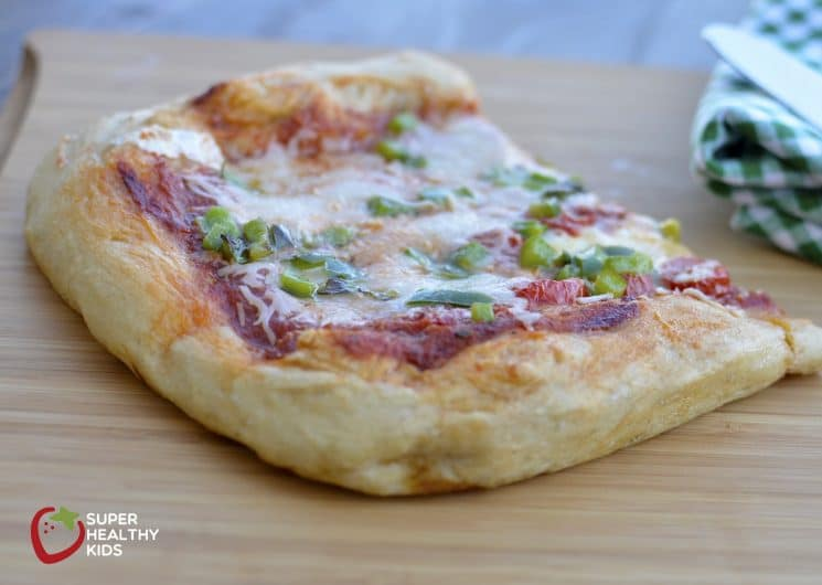 No Knead Whole Wheat Pizza. No Knead whole wheat pizza dough for a fast and easy dinner!