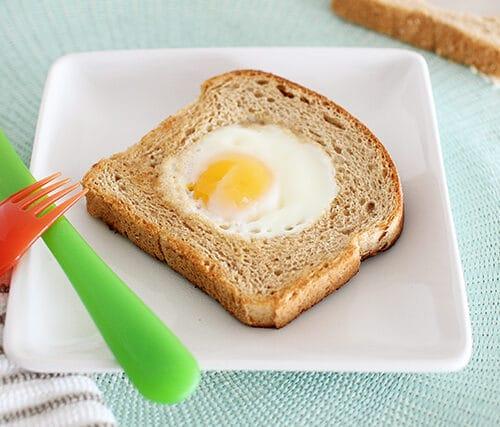 Egg In The Basket Super Healthy Kids