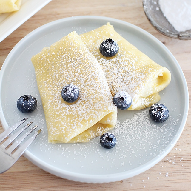ricotta filled crepes