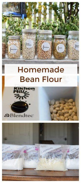 DIY Grinding your own bean flour