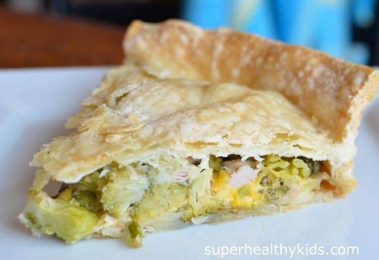 broccoli pie 2 from super healthy kids