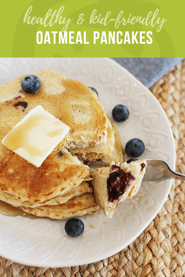 Oatmeal Pancakes | Healthy Ideas and Recipes for Kids