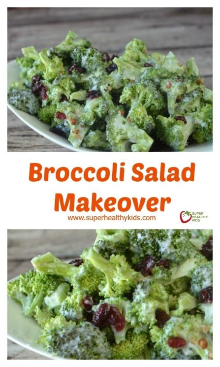 Broccoli Salad Makeover Recipe. The ultimate potluck dish!