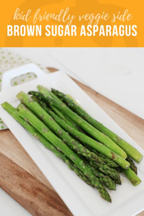 Brown Sugar Asparagus Recipe | Healthy Ideas for Kids