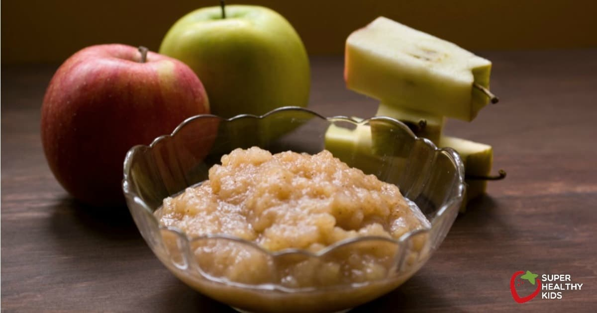 Homemade Applesauce Recipe Healthy Ideas For Kids