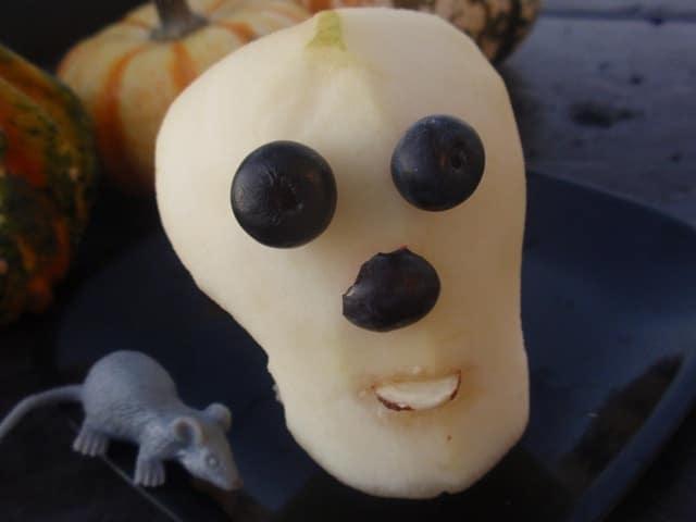 pear skull