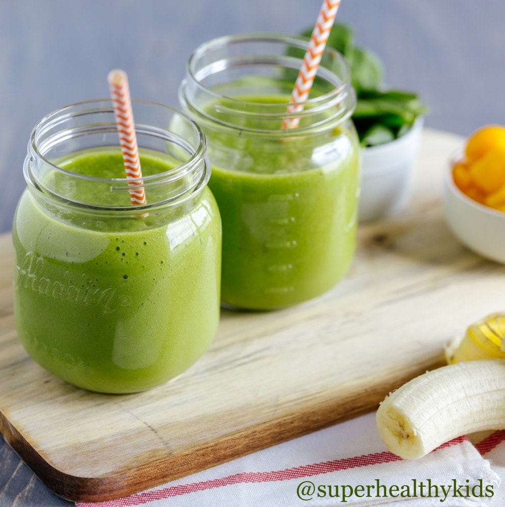 21 Days of Things to Do with A Picky Eater, green smoothie