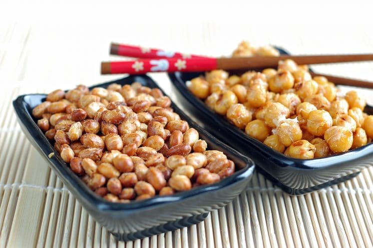 Roasting Beans. The perfect, high protein, crunchy snack!