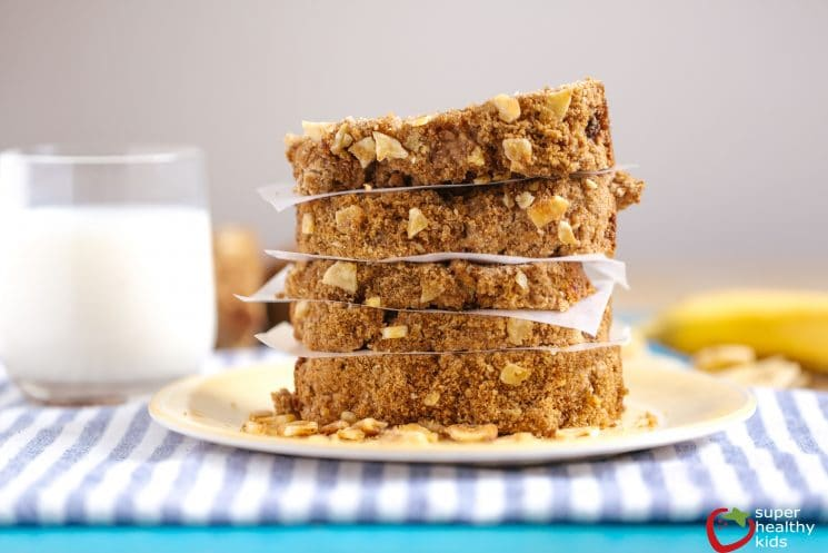 Banana Bread. Short on ingredients, but super high in flavor- check out this version of our banana bread makeover