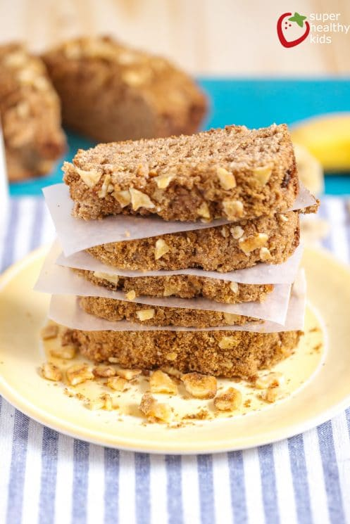 Banana Tea Party Bread. Short on ingredients, but super high in flavor- check out this version of our banana bread makeover