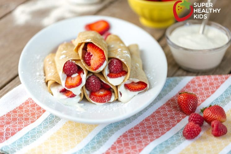 Dessert Taco. Want to see your kids excited for dinner? Serve this breakfast tonight!