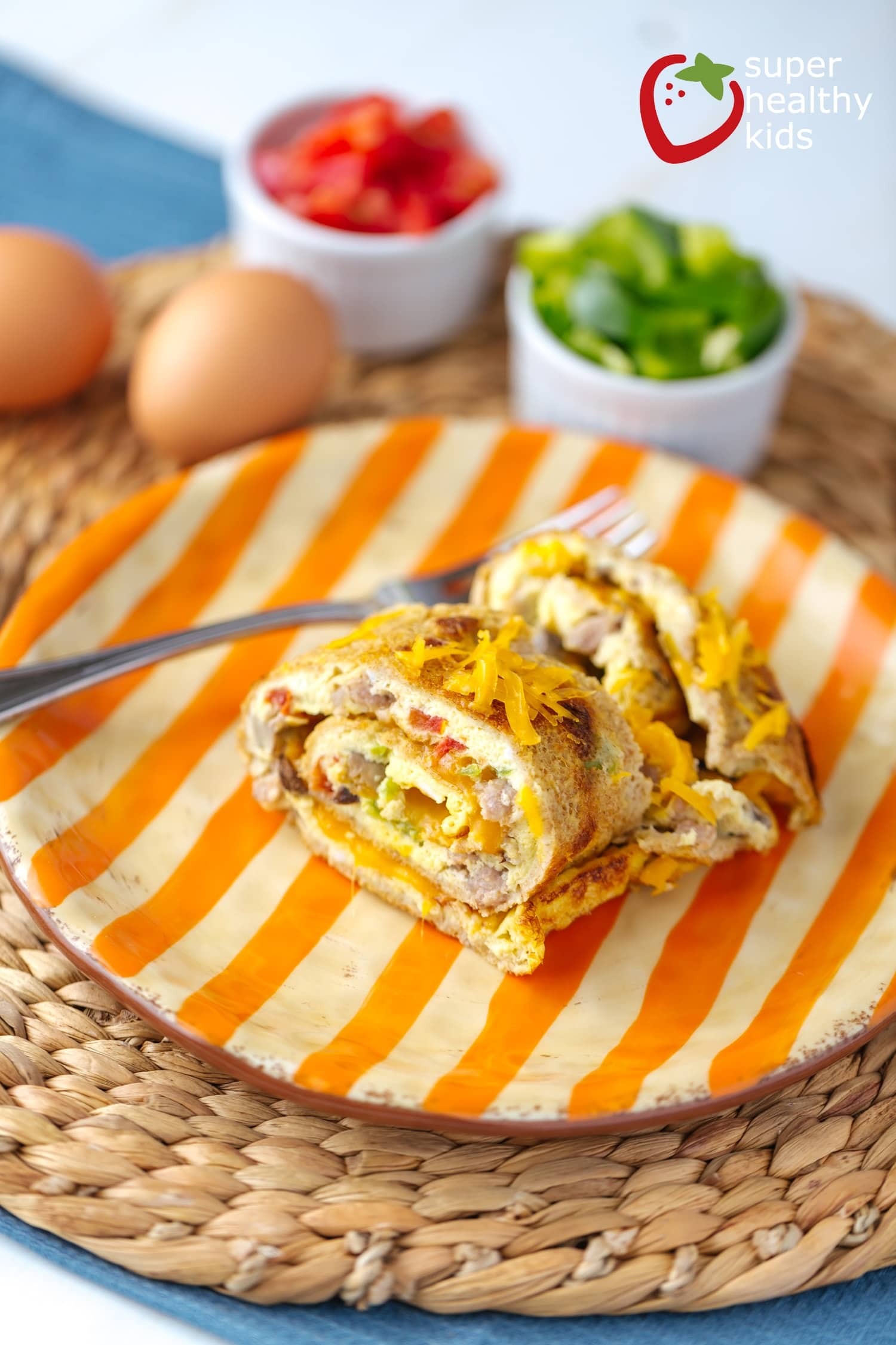 Baked Omelet Breakfast Time Saver Healthy Ideas For Kids