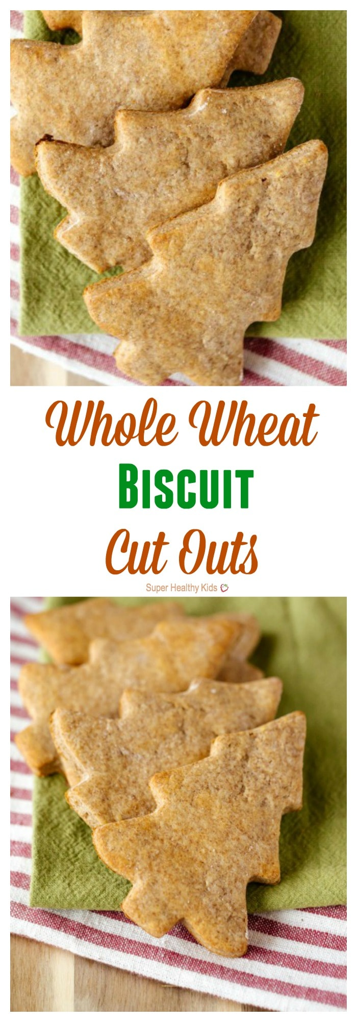 Whole Wheat Biscuit Cut Outs. 4 reasons why your kids need whole wheat...and some yummy biscuits to try! https://www.superhealthykids.com/christmas-in-a-biscuit/