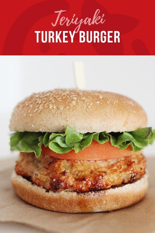 Delicious teriyaki turkey burgers