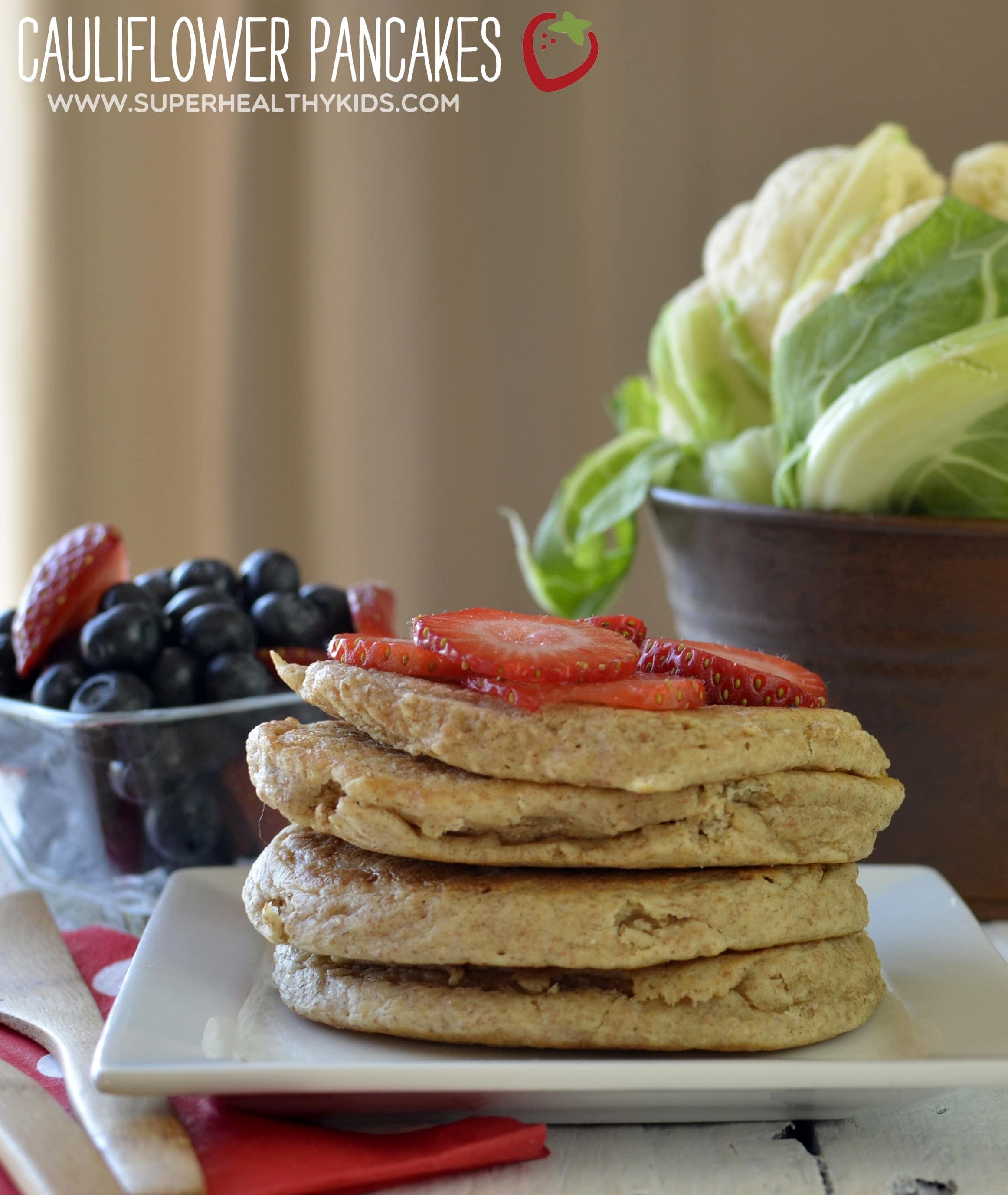 fluffy cauliflower pancake recipe healthy ideas for kids
