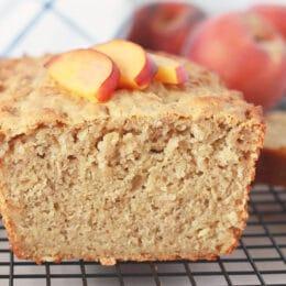 Pão crocante de pêssego - Crianças super saudáveis 6