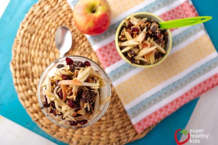 Apple Sundae for Breakfast. 5 reasons your family should be having apples for breakfast!
