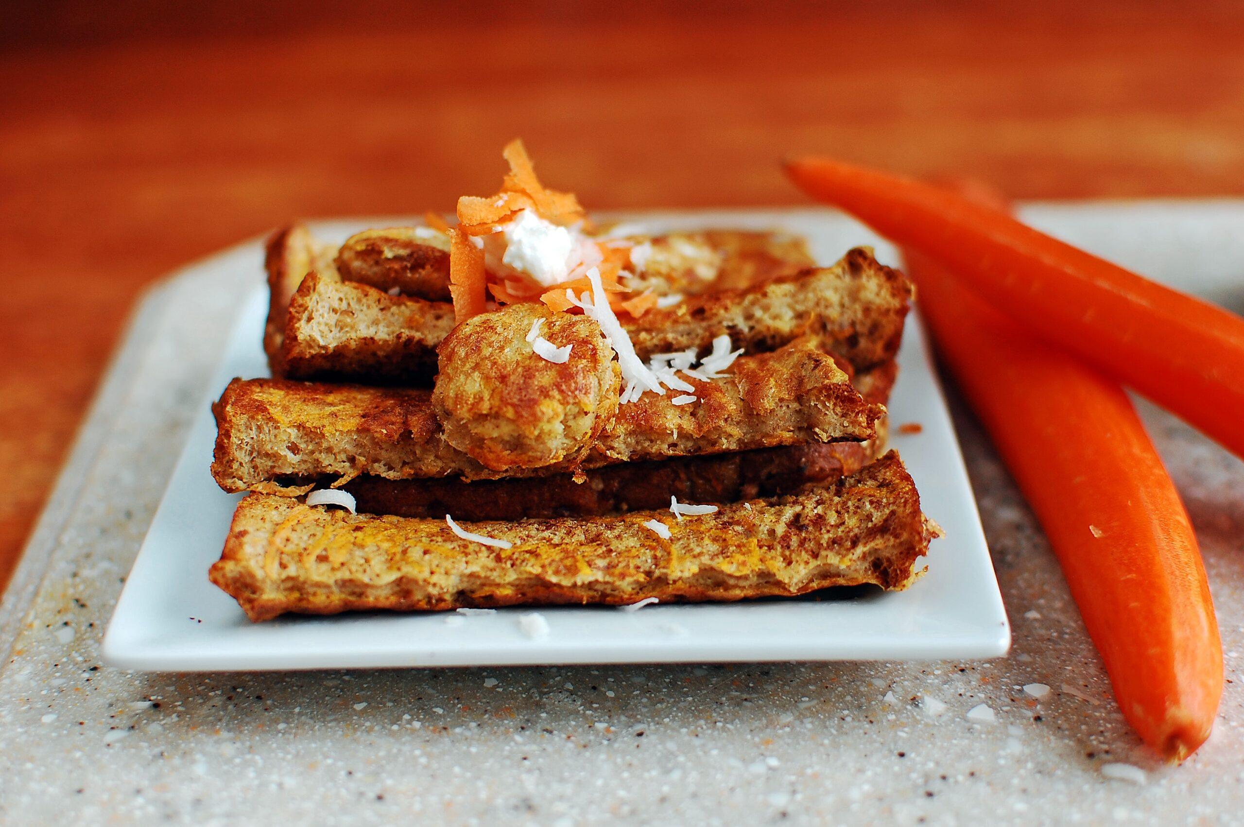 Carrot Cake French Toast Sticks | Healthy Ideas for Kids