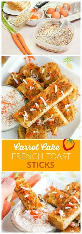 Veggies for breakfast! Carrot Cake French Toast | Super Healthy Kids | Food and Drink