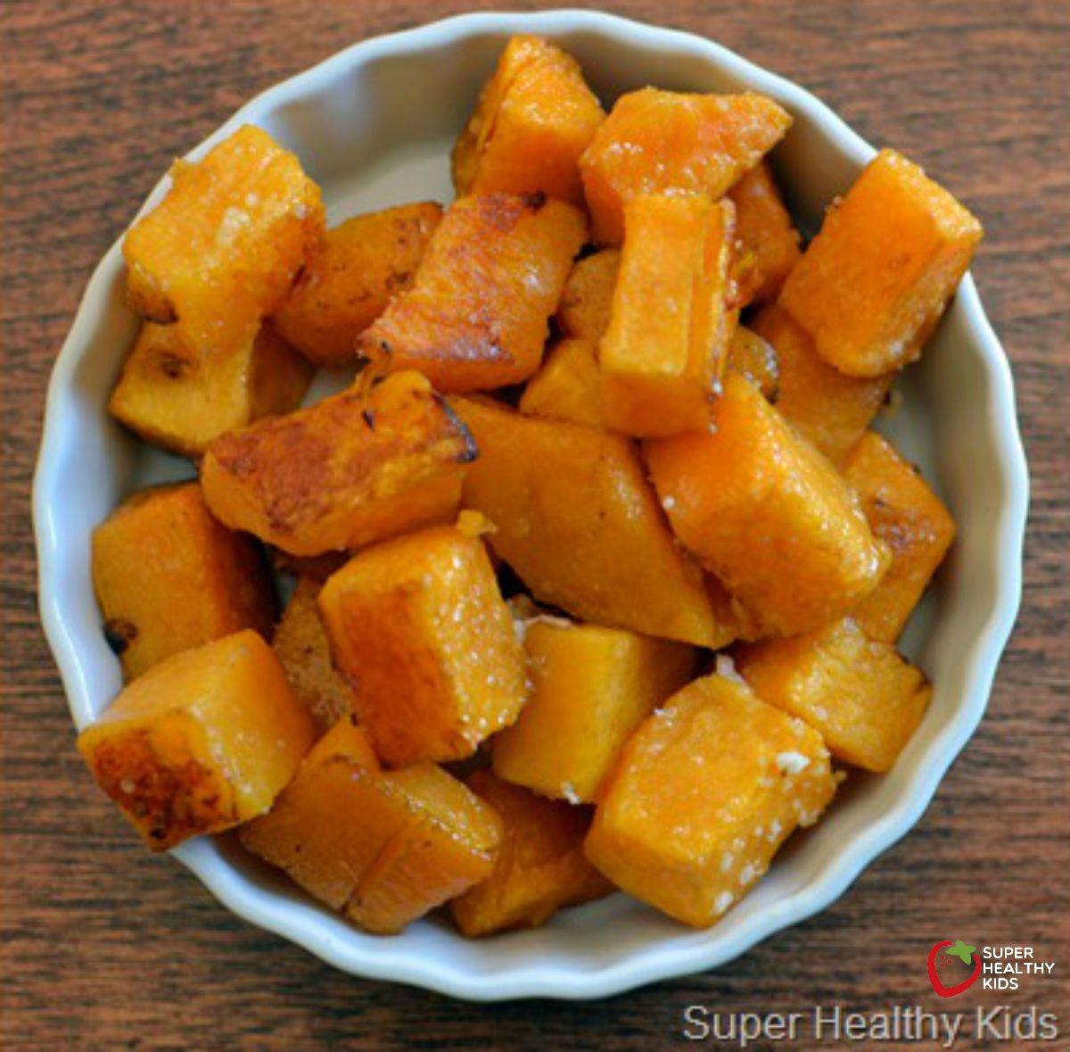 Easy Vegetables: Roasted Butternut Squash Recipe