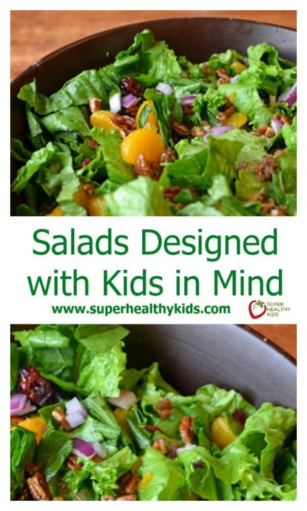 Salads Designed with Kids in Mind. Here's a salad your kids may just be ASKING to eat!