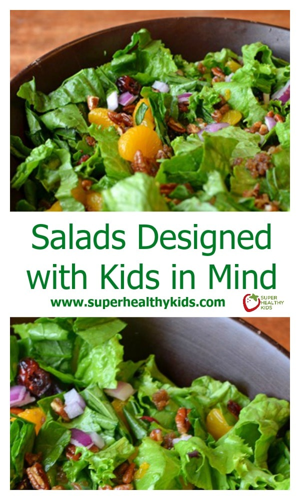 Salads Designed With Kids In Mind Here S A Salad Your May Just Be Asking