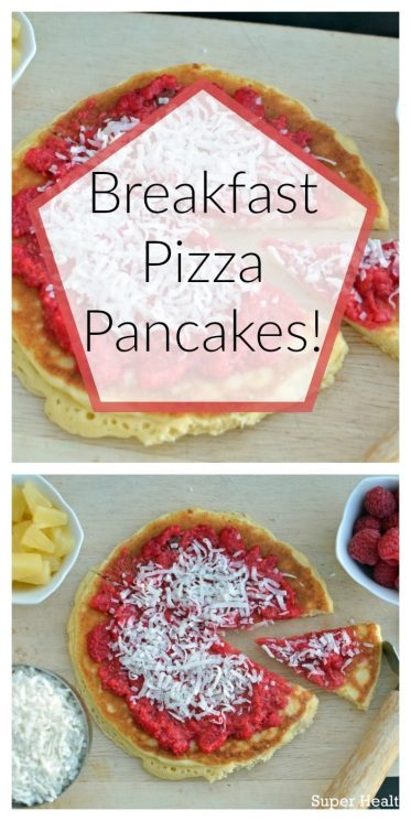Breakfast Pizza Pancakes!