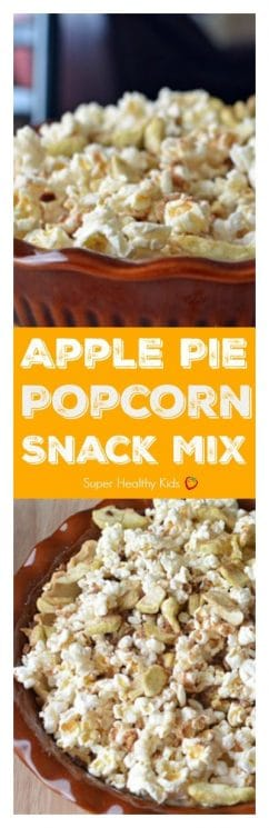 Apple Pie Popcorn Snack Mix. Regular popcorn is so yesterday! Spice it up a bit with our sweet version!