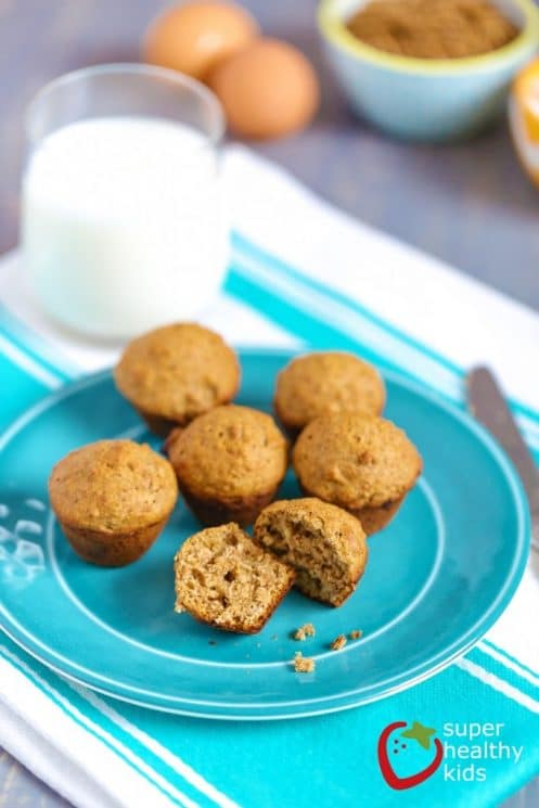 Best Bran Muffin Recipe for Kids. High fiber ingredient in these muffins make them a great choice for breakfast!