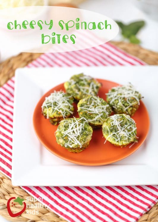 Cheesy Spinach Bites Recipe. Packed with nutrition and super yummy!