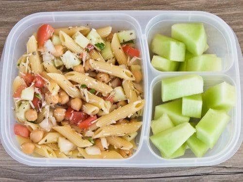 Pasta Salad Recipe Chickpeas