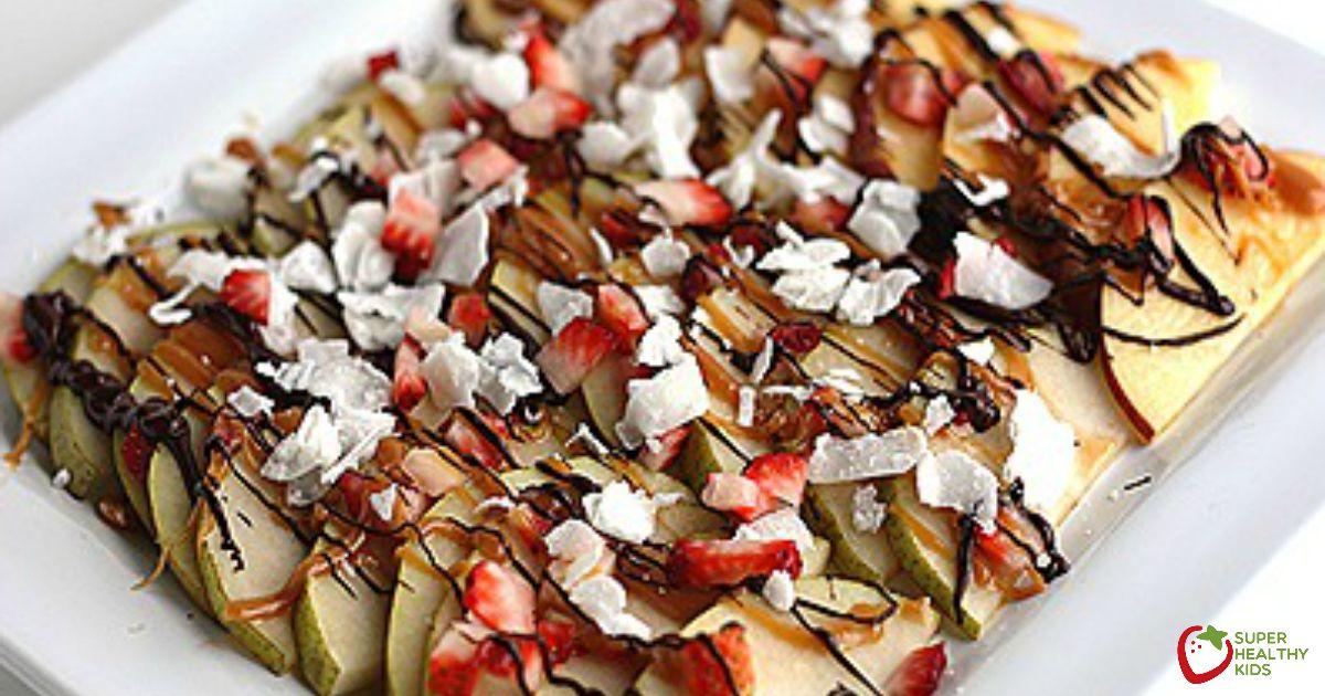 Nachos de frutas - crianças super saudáveis 37