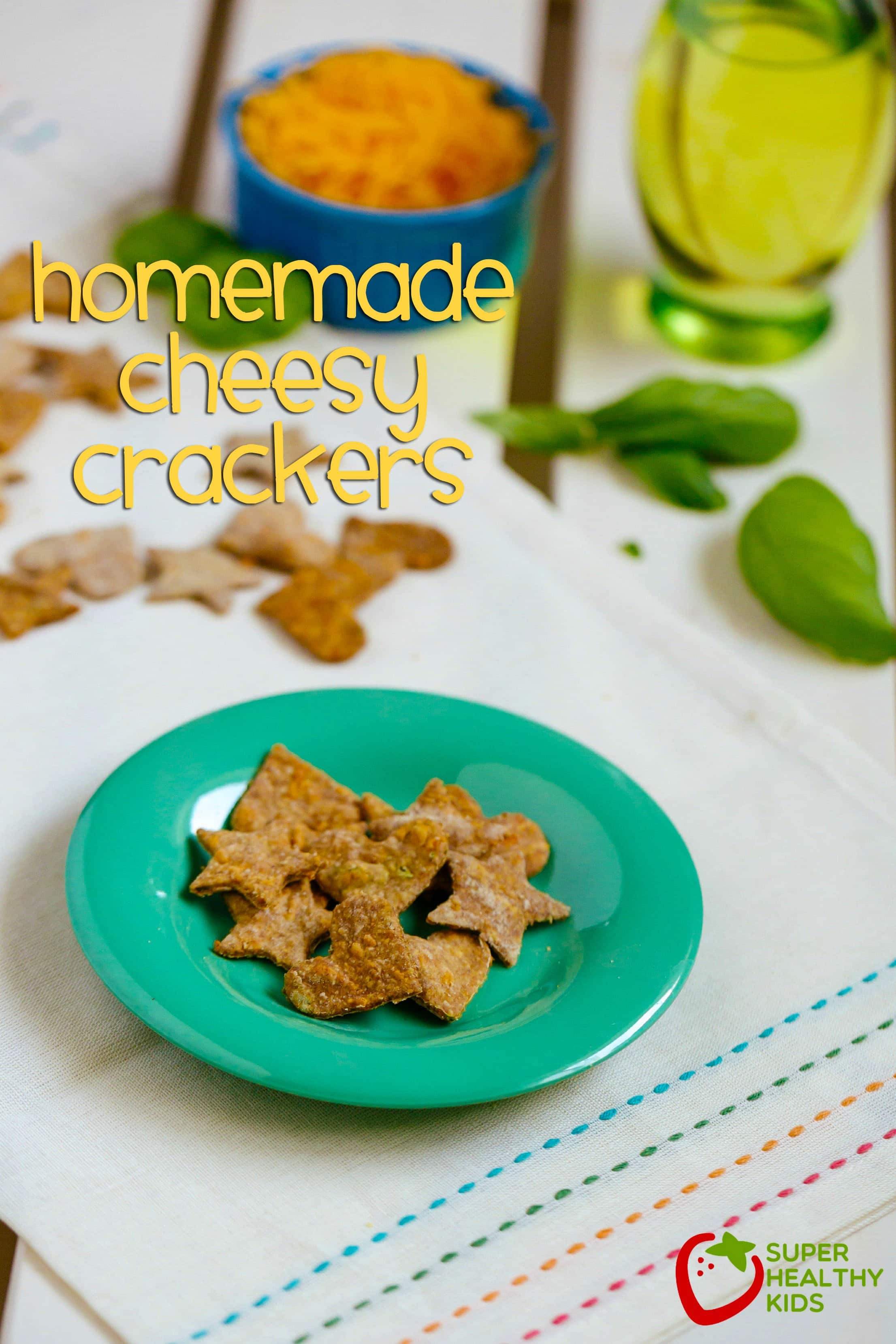 Homemade Cheesy Crackers Recipe