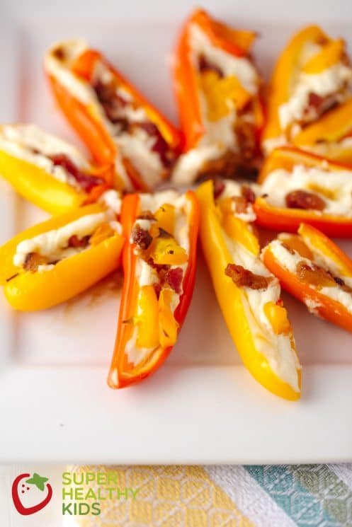 Less Spicy Pepper Popper Appetizer. Here's a delicious appetizer for those who don't like super spicy food.