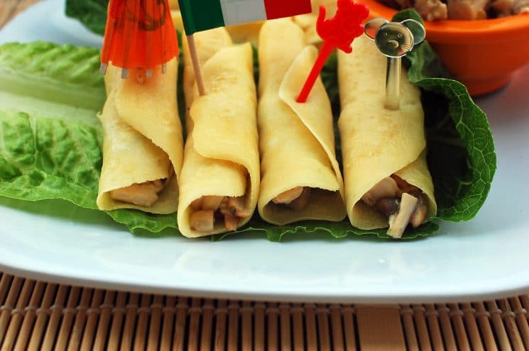 Savory Chicken Crepes Super Healthy Kids