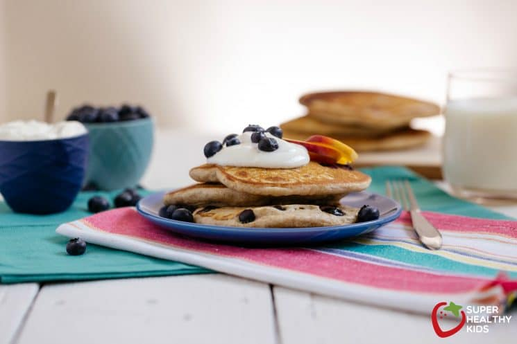 Buckwheat pancake recipe- a nutty variation to all grain pancakes!