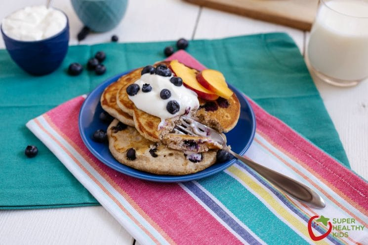 Buckwheat pancake recipe! This nutty variation to an all grain pancake is delicious!