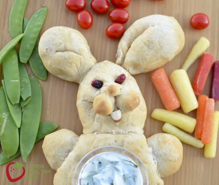 bunny veggie tray 2 shk