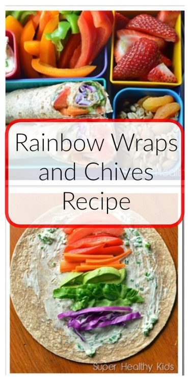 Rainbow Wraps and Chives Recipe