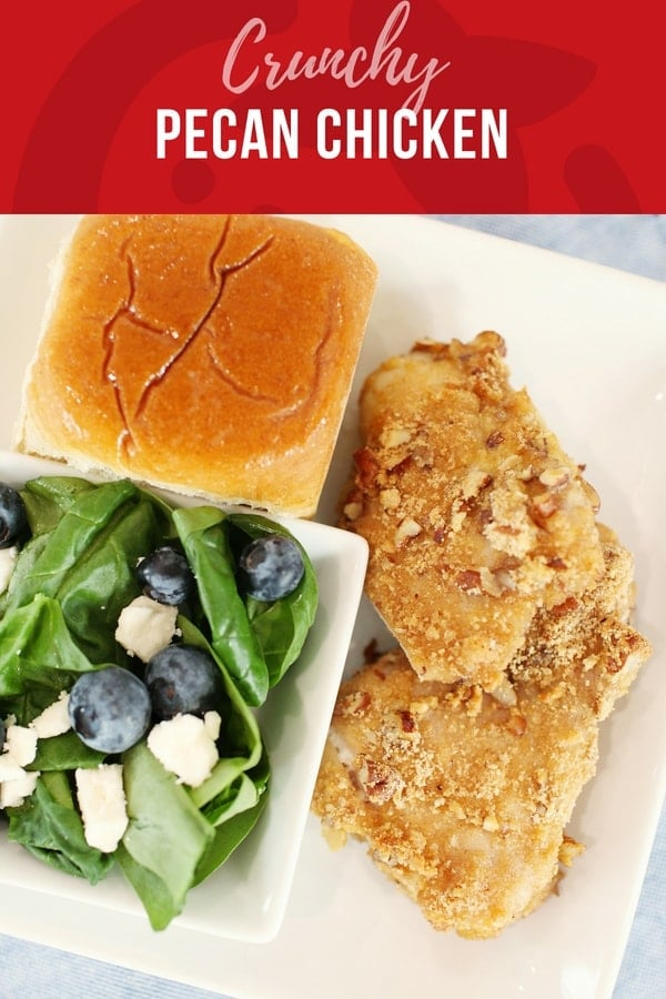 Crunchy pecan chicken- and 10 protein ideas for kids