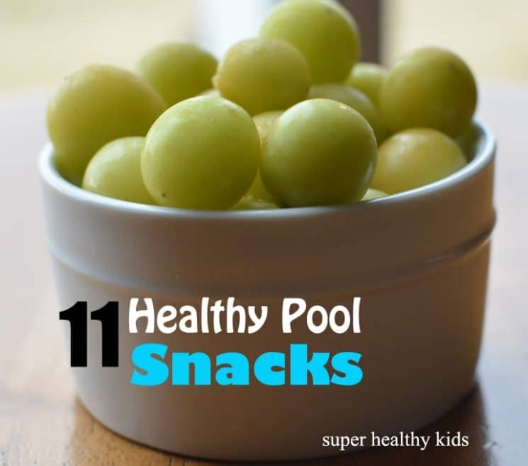 Summer Pool Snacks: 11 Healthy Choices. This is our go-to list any time we are headed out for a day in the sun!!