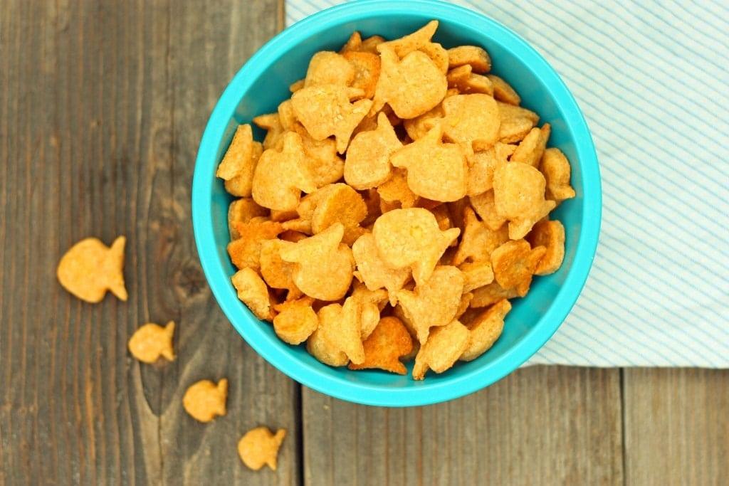 Whole Wheat Goldfish Crackers Recipe