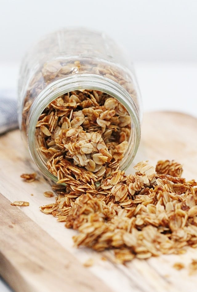 homemade granola recipe
