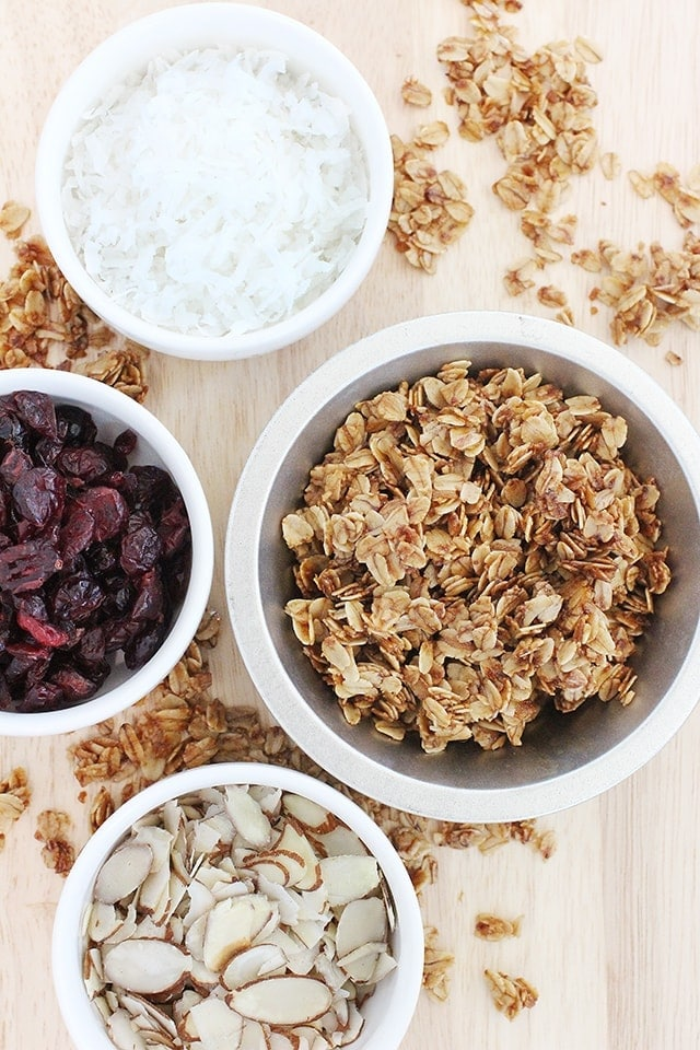 Homemade granola healthy ideas for kids it will feel like it is still kind of dry but keep stirring for a while to get everything coated nice and good ccuart Gallery