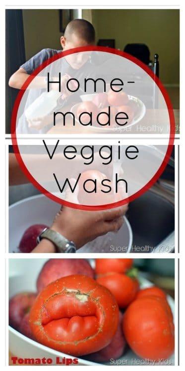 Homemade Veggie Wash
