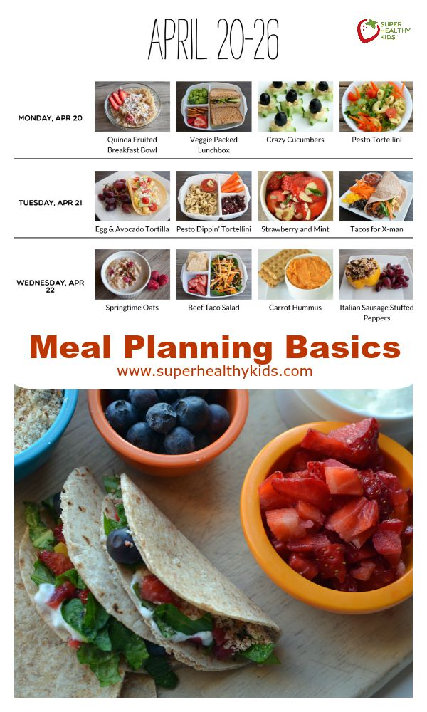 Meal Planning Basics. The meal planning basics! If you've wanted to get started and get organized, we've got you covered!