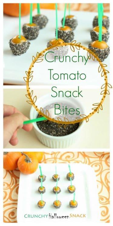 Crunchy Tomato Snack Bites