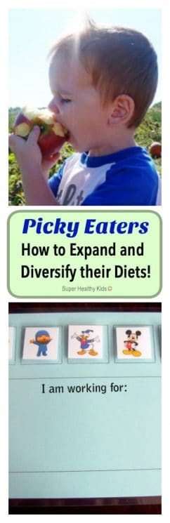 Picky Eaters: How to Expand and Diversify their Diets! More picky eater tips!! https://www.superhealthykids.com/picky-eaters-how-to-expand-and-diversify-their-diets/