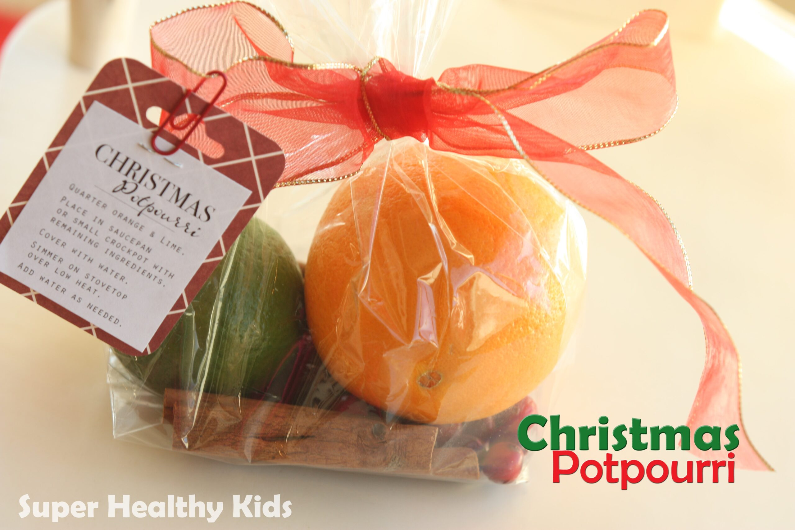 Christmas Potpourri Inexpensive Neighbor Gift Idea