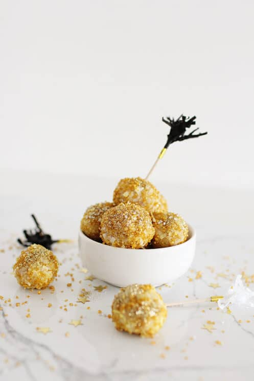 Festive Coconut Snowballs